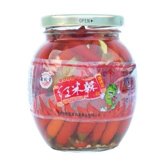 真的老 新都泡菜 红米椒 350g