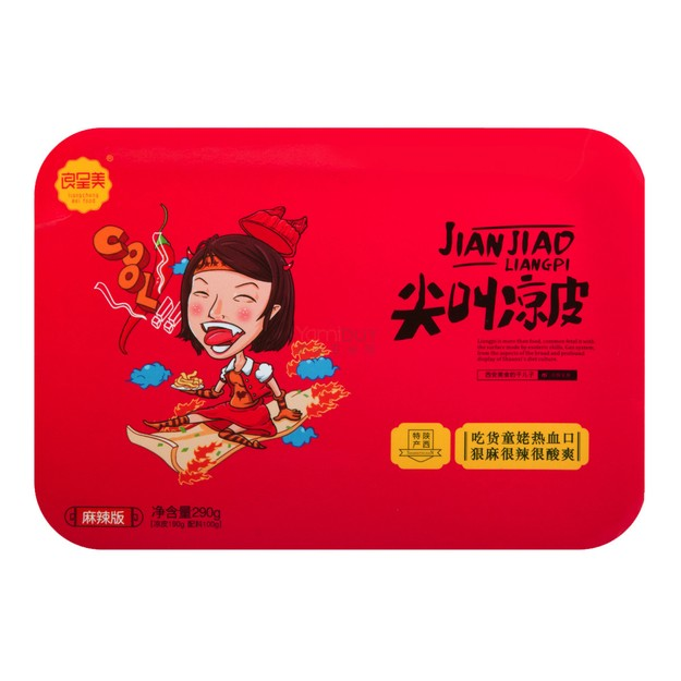 Product Detail - LIANGCHENGMEI Shaanxi Cold Noodle Hot Spicy 290g - image 0
