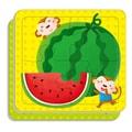 邦臣小红花:动手动脑玩拼图1(2-3岁)(4块)