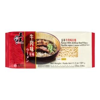 WU-MU Steam Beef Flavor Ramen 321g