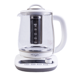 【Hot】SONYA Multi Function Glass Electric Water Kettle Healthy Tea Kettle 1.8L SY-B18