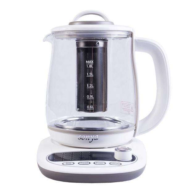 Product Detail - 【Pre-order-Ship in 5~15 Days】SONYA Multi Function Glass Electric Water Kettle Healthy Tea Kettle 1.8L SY-B18 - image 0