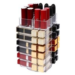 ROSELIFE 亚克力旋转化妆品口红架48 + 5插槽
