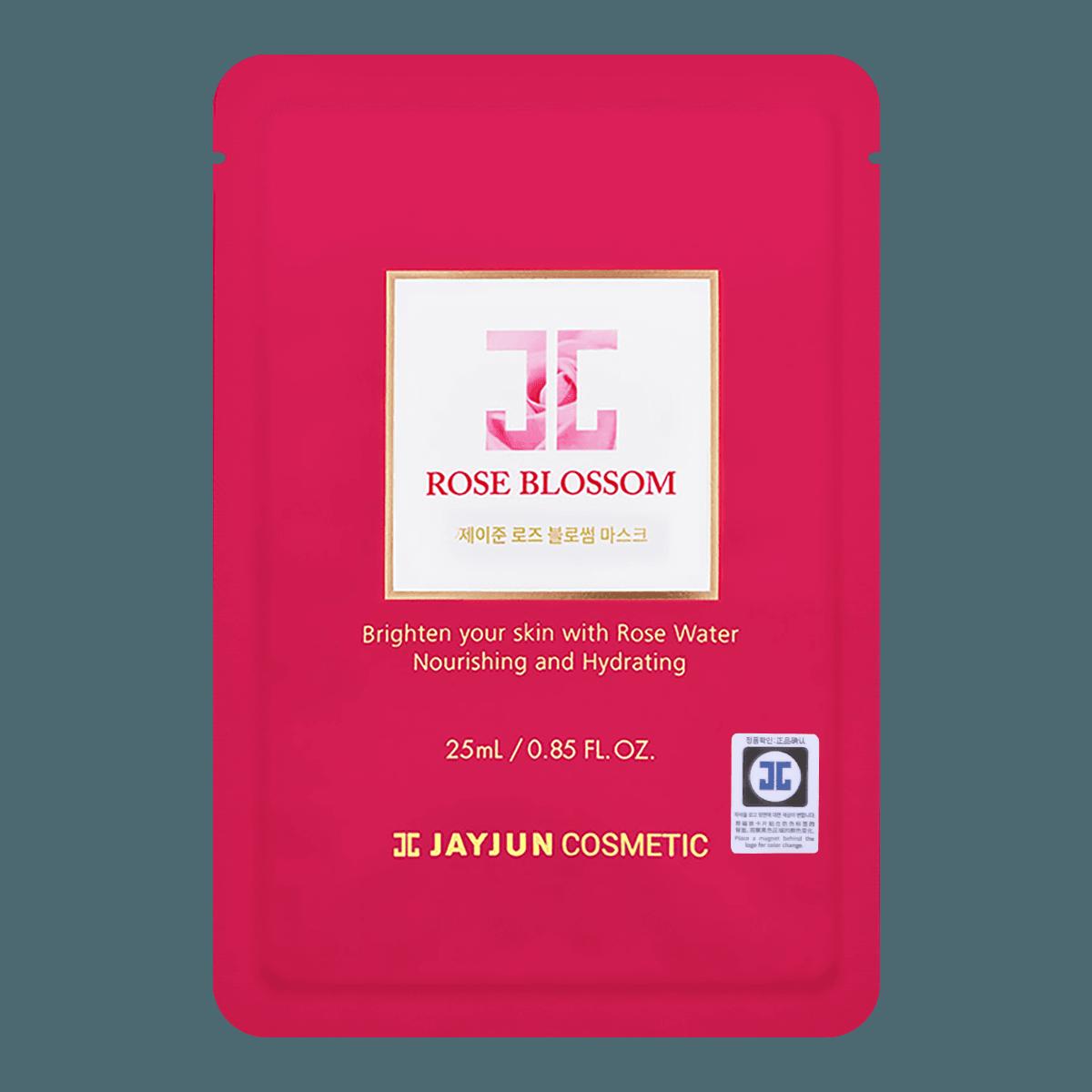 Yamibuy.com:Customer reviews:JAYJUN Rose Blossom Face Mask 1sheet