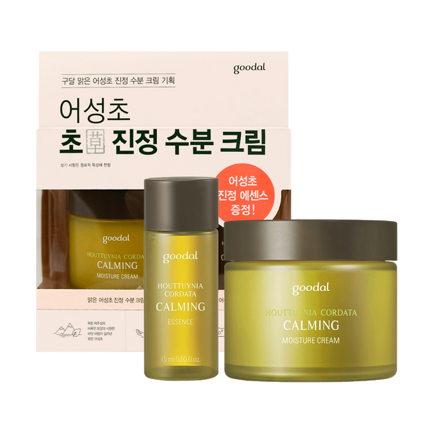 Product Detail - GOODAL Houttuynia Cordata Calming Moisture Cream Set 75ml+31ml - image 0