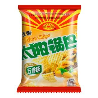 太阳锅巴 五香味 50g