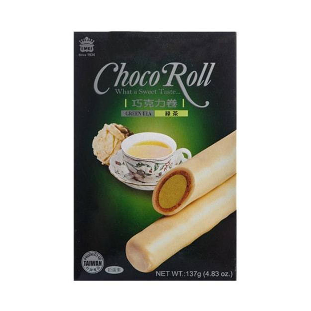 商品详情 - 台湾IMEI义美 巧克力卷 绿茶味 137g - image  0