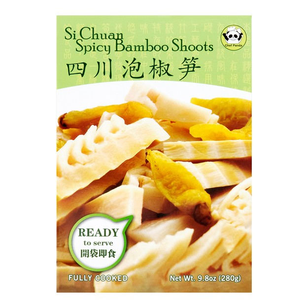 Product Detail - NEW HEALTH Sichuan Spicy Bamboo Shoots 280g - image 0