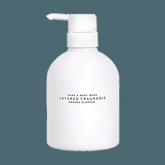 商品详情 - 日本LAYERED FRAGRANCE SPA级香氛沐浴乳 #香橙花 500g - image  0