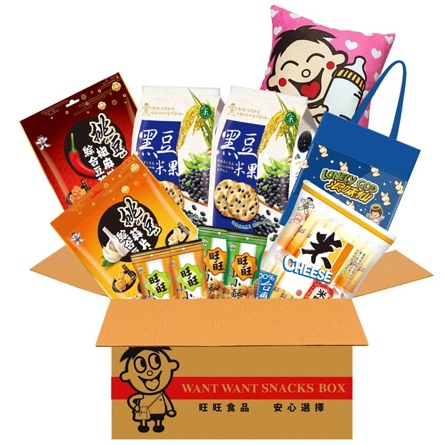 Product Detail - Taiwan WANT WANT Family Party Snack Gift Box Rice Cracker Accessories 11Pack 885g - image 0
