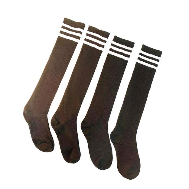 商品详情 - 中国直邮 瑰若 清纯学生装丝袜性感长筒袜高筒袜诱惑日系情趣学生袜 2双 - image  0