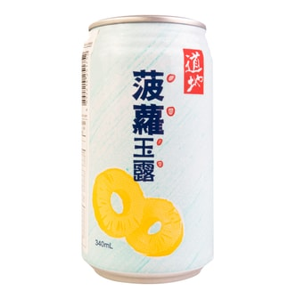 Tao Ti Taiwanese Pineapple Juice Drink 340ml