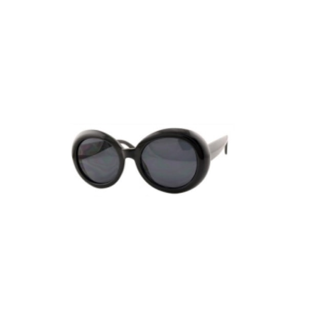 Product Detail - RETRO POP Fashion Sunglasses 7416 Black Frame/Grey Lens - image  0