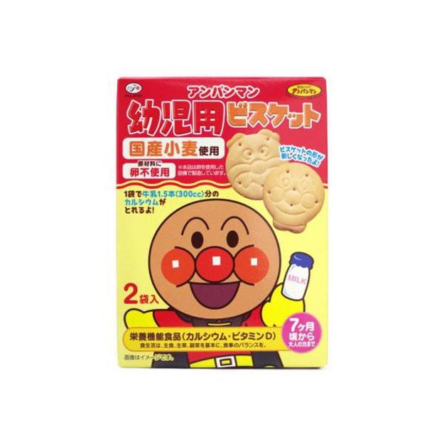 商品详情 - 【日本直邮】不二家FUJIYA 面包超人饼干 牛奶味 84g - image  0