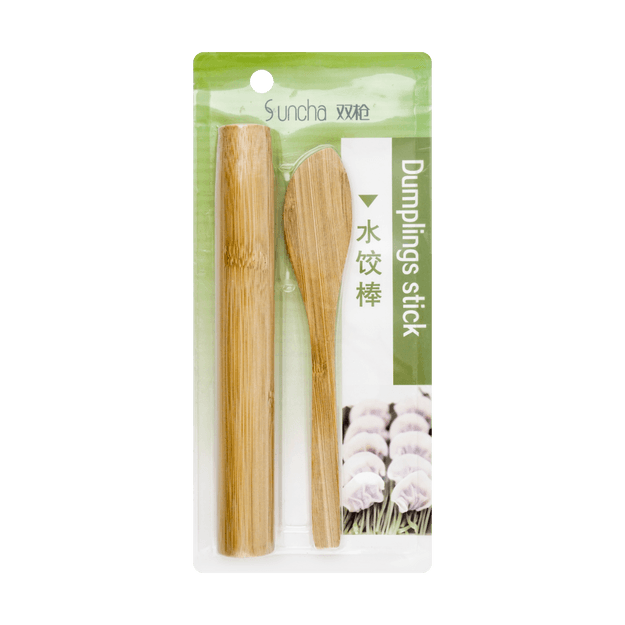 Product Detail - SUNCHA Bamboo Rolling Pin and Ladle Set - image 0