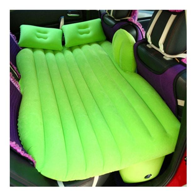 商品详情 - 中国专线直邮 时效5-12天LORDUPHOLD 汽车车床 充气床垫 车载充气床垫 汽车植绒充气床 汽车车载气垫床 绿色一套 - image  0