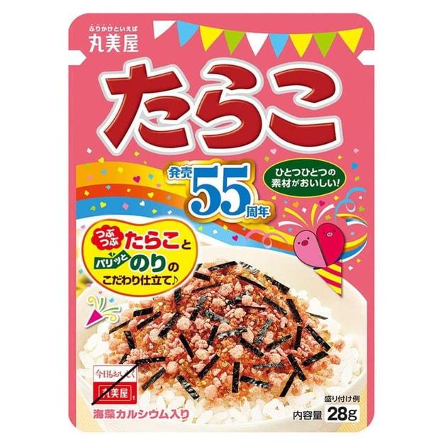 商品详情 - 【日本直邮】日本丸美屋 网红拌饭 方便拌饭 鳕鱼子 28g - image  0