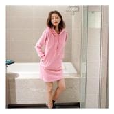 韩国正品 MAGZERO 连帽衫裙 #粉色 均码(S-M) [免费配送]