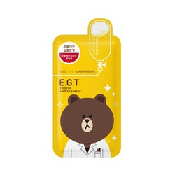 MEDIHEAL X LINE FRIENDS E.G.T Timetox Ampoule Mask 1sheet