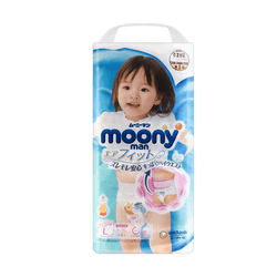 MOONY Baby Pant diaper for girls 9-14kg 44pc Size L