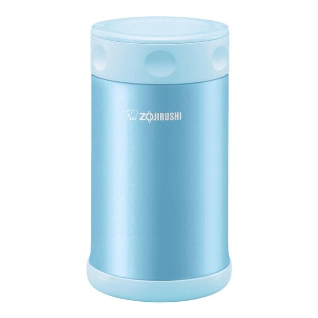 Product Detail - ZOJIRUSHI Stainless Steel Food Jar AQUA BLUE 750ml SW-FCE75-AB - image 0