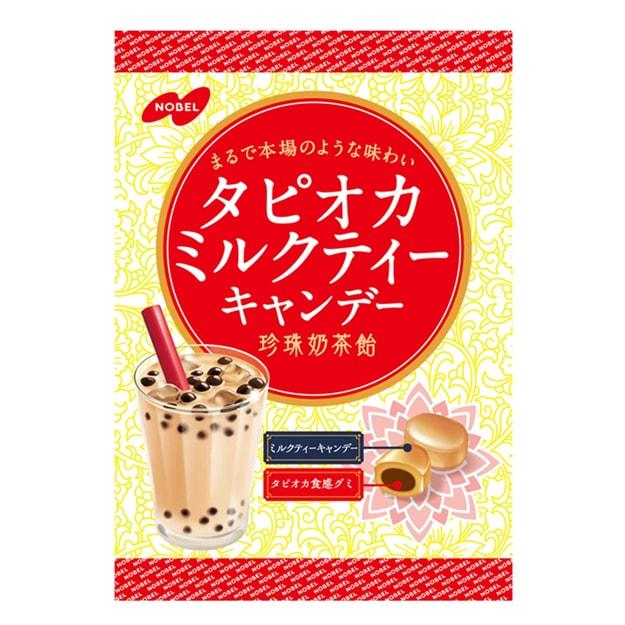 Product Detail - NOBEL Brown Sugar Pearl Milk Tea Flavored Hard Candy 90g - image 0