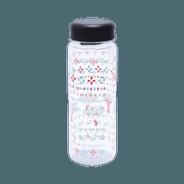 MOTTAINAI||个性循环瓶500||蓝&红 500ML