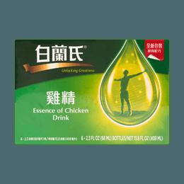英国白兰氏 鸡精 抗疲劳增强体力  6瓶入 408ml