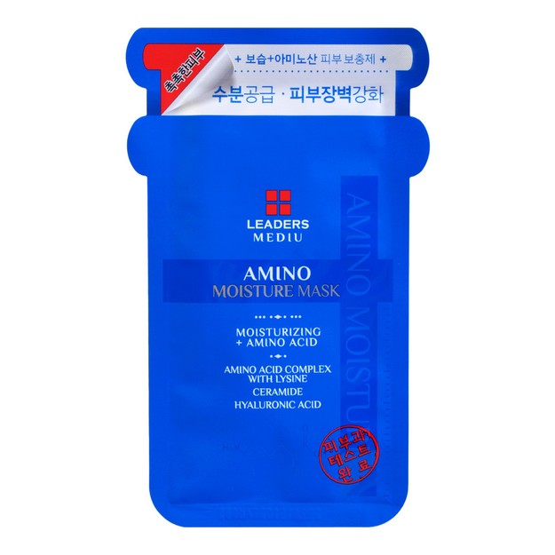 Product Detail - LEADERS MEDIU Amino Moisture Mask 1sheet - image 0
