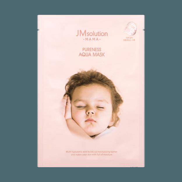 Product Detail - JM SOLUTION PURENESS AQUA Mask 1sheet - image 0