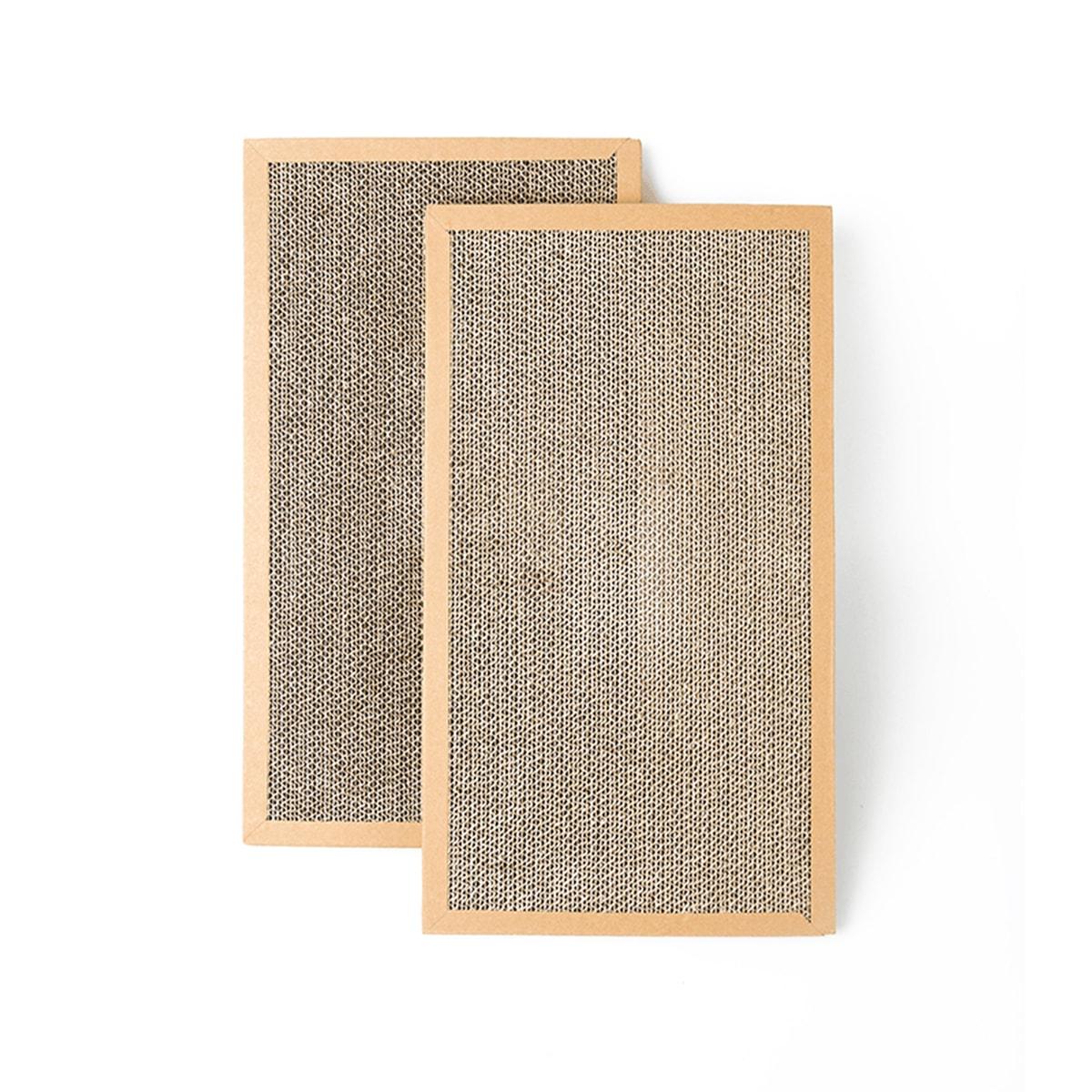 瓦楞纸替芯2片装 踏浪瓦楞纸猫磨爪猫咪玩具猫爪板 怎么样 - 亚米网