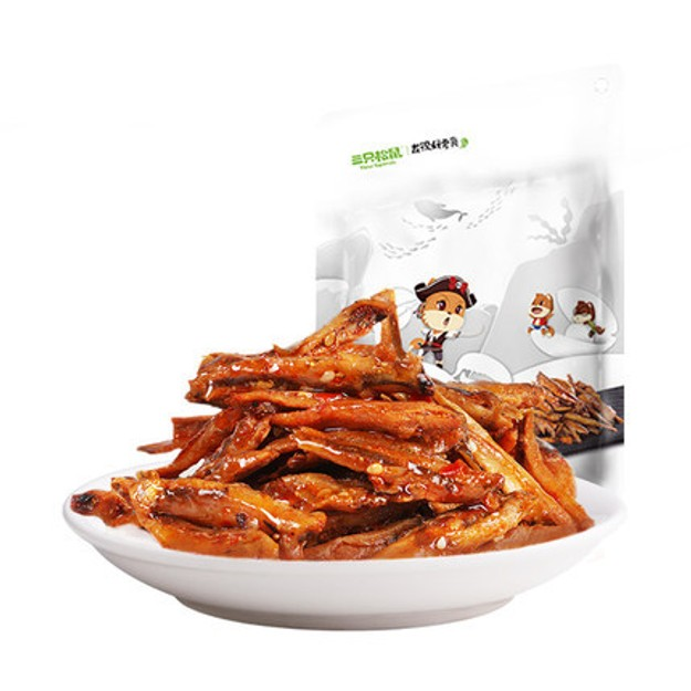 Product Detail - THREE SQUIRRELS  Crispy Fried Fish - image 0