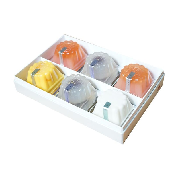 Product Detail - SHINJUKU NAKAMURAYA ENKATEN Crystal Mooncake 6pc - image 0