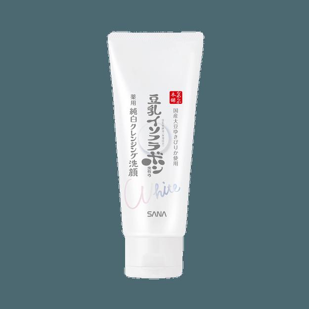 商品详情 - SANA 莎娜||豆乳美肌 纯白透明感保湿洁面乳||150g - image  0