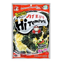 Super Crispy Grilled Seaweed Hot Tempura Flavor 40g