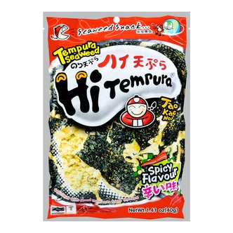 泰国小老板 天妇罗海苔 辣味 40g