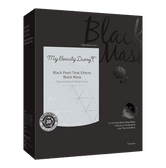 MY BEAUTY DIARY Black Pearl Total Effects Black Mask 5sheets