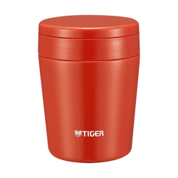 TIGER Stainless Steel Thermal Vacuum Insulated Food Jar Soup Cup #Chili Red 300ml MCL-B030 RC