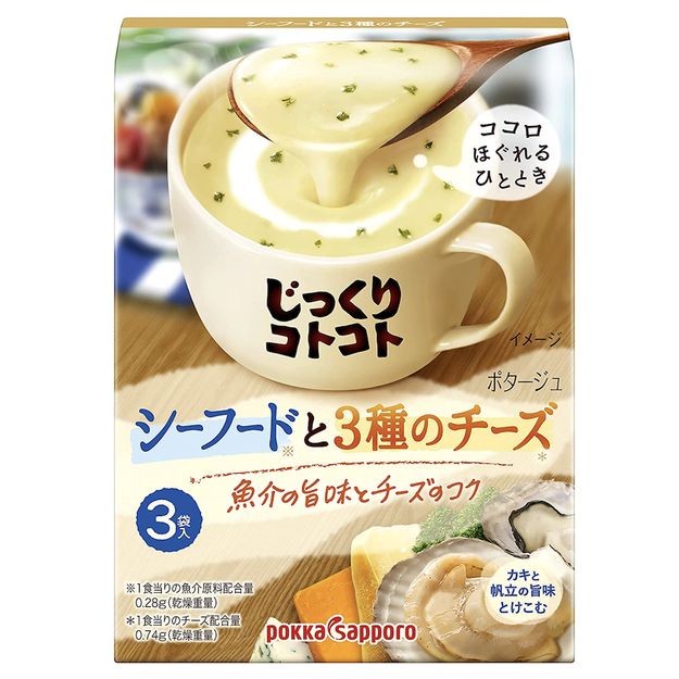 Product Detail - POKKA SAPPORO Cheese Seafood Soup 3pc - image 0