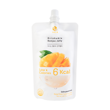 Jelly B. Konjac Drink Mango Flavor Low Calories Drink 150ml