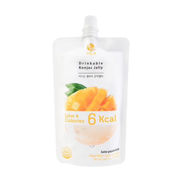 Product Detail - Jelly B. Konjac Drink Mango Flavor Low Calories Drink 150ml - image 0