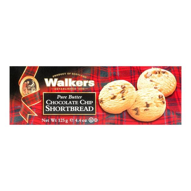 商品详情 - 英国WALKERS 苏格兰皇家奶油系列 巧克力曲奇饼干 125g - image  0