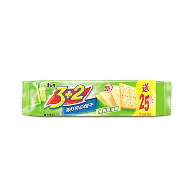 商品详情 - 【加拿大直发】康师傅 3+2 葱香饼干 125g - image  0