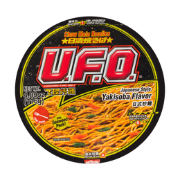 NISSIN UFO Japanese Style Ykisoba Flavor Chow Mein Noodles 116g