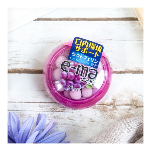 UHA E-MA Mini Hard Candy -Grape Flavor 33g