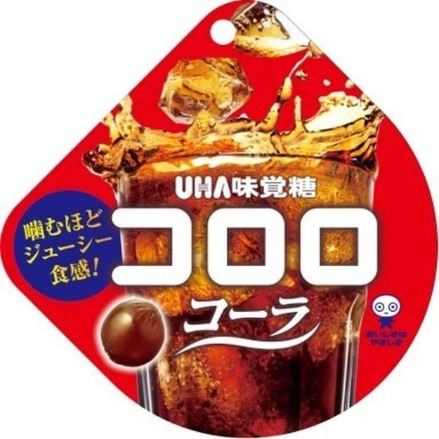 商品详情 - 【日本直邮】UHA悠哈味觉糖  可乐口味味觉糖软糖 40g - image  0