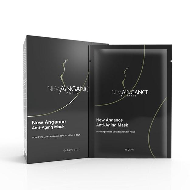 商品详情 - 法国直邮-NEW ANGANCE心仙格 抗衰老面膜 一盒10片 - image  0