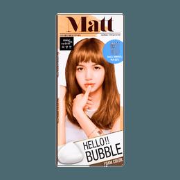 韩国MISE EN SCENE爱茉莉 美妆仙 HELLO BUBBLE泡沫染发剂 8MG哑光金色 单组入