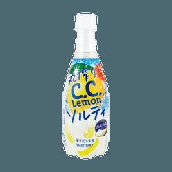 日本SUNTORY三得利 盐味柠檬饮料 10%果汁
