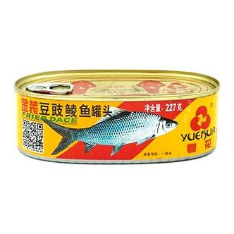 粤花牌 金装豆豉鲮鱼罐头 227g